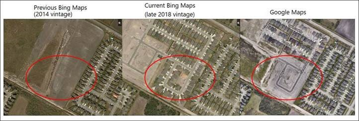 New Bing Maps Imagery 2019 | MapSavvy.com | OnTerra Systems